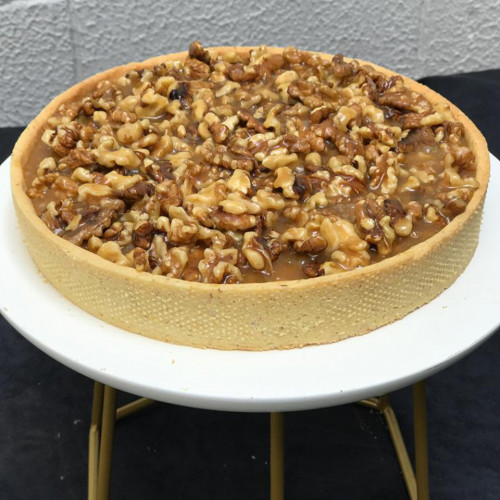 TARTA TOFFEE Y FRUTOS SECOS