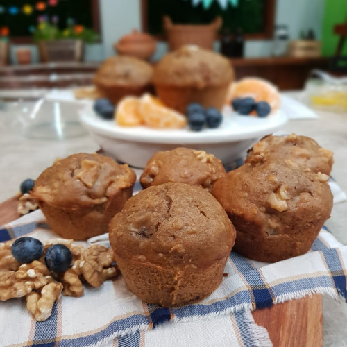 Muffins dulces saludables