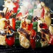 Brochettes mixtas