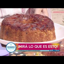 Budín de membrillo y frutos secos