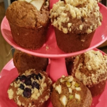 Muffins saludables frutales con Diego Topa