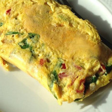 Omelettes arrollados