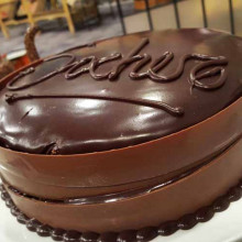 Torta Sacher doble relleno