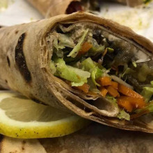 Wraps integrales saludables